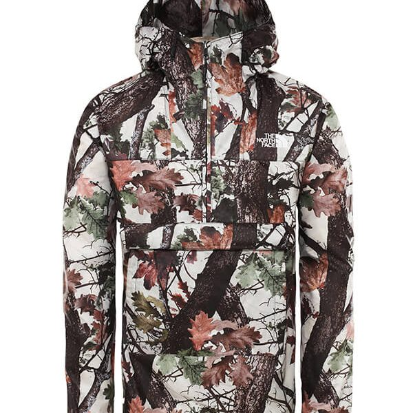 The North Face fanorak vintage white