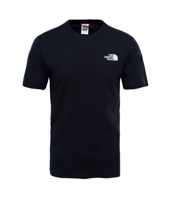 The North Face Man ss redbox tee fekete