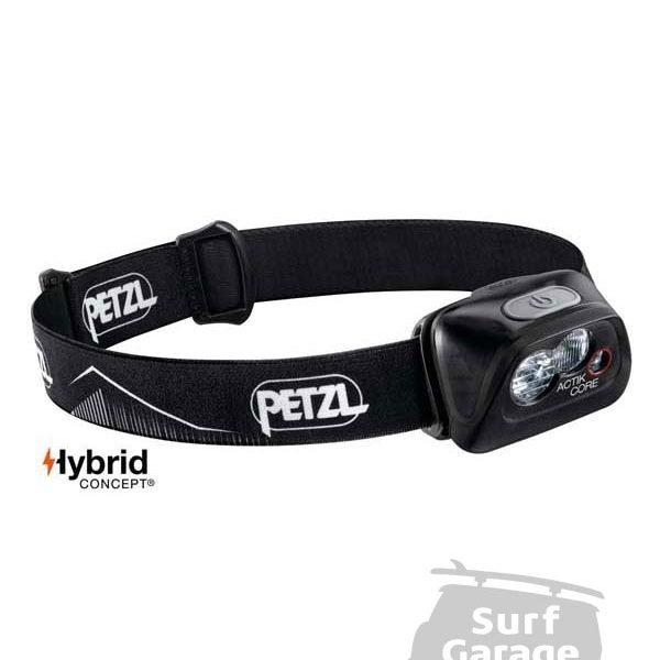 Petzl ACTIK CORE LAMP BLACK